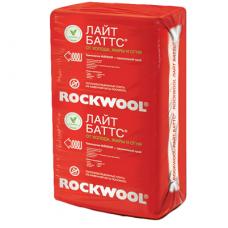 Rockwool Лайт Баттс 1000х600х50 мм 10 плит в упаковке