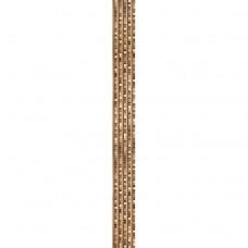 Стеновая панель ПВХ Кронапласт Unique Рейкьявик коричневый фигурная 2700х250 мм