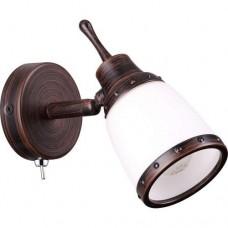Odeon Light Lofia 3806/1W коричневый E14 60W 220V