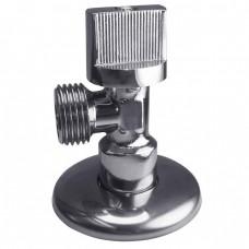 Кран шаровой Remsan 448519 D15х20 мм угловой мини латунный