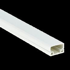 Кабель-канал EKF-Plast Proxima 20х10 мм с двойным замком белый