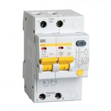 Автоматический выключатель дифференциального тока IEK АД12 2Р 50А 100мА