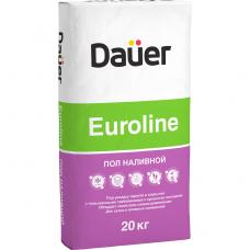 Пол наливной Dauer Euroline 20 кг быстротвердеющий