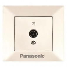 Розетка телевизионная проходная Panasonic Arkedia WMTC04522BG-RES 12dB одноместная кремовая