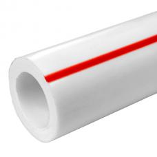 Труба FDplast PN 20 PPRC 40x6,7 мм белая