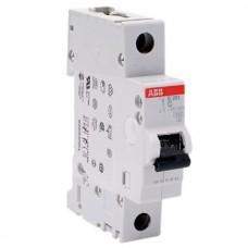Автоматический выключатель ABB S201 2CDS251001R0634 C 1P 63A