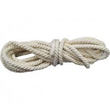 Веревка х/б крученая Ф10мм (11м) 211 кгс