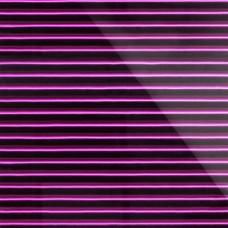 Дизайнерская 3D панель из стекла Artpole Vertical лиловый 600х600 мм