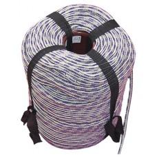 Шнур вязаный полипропиленовый с сердечником цветной Ф5 мм (200м) 4,6 ктекс; 90 кгс