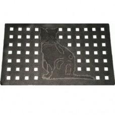 Коврик резиновый перфорированный Cleanwill DRP 235 Punched Cat mat 450х750 мм