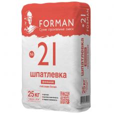 Forman 21 белая 25 кг