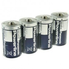 Батарейка алкалиновая Panasonic Powerline Industrial С LR14 SR4 4 шт