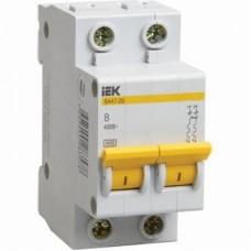 Автоматический выключатель IEK ВА47-29 2Р 63А C