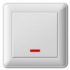 Переключатель Schneider Electric W59 VS616-157-18 одноклавишный с индикатором белый