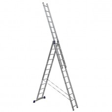 Лестница трехсекционная Алюмет 5312 3х12