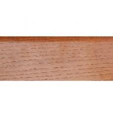 Плинтус шпонированный DL Profiles 010 Дуб Карамель 2400х75x16 мм