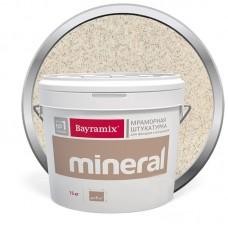 Штукатурка мраморная декоративная Bayramix Mineral 020 15 кг