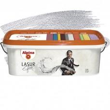 Декоративное покрытие Alpina Lasur Effekt Silber 2,5 л