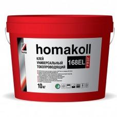 Клей Homakoll 168EL Prof для напольных покрытий универсальный 10 кг