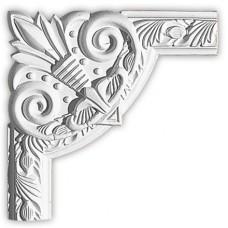 Угол декоративный для молдинга Decomaster 98102-1 280х280х22 мм