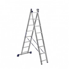 Лестница двухсекционная Алюмет 5208 2х8