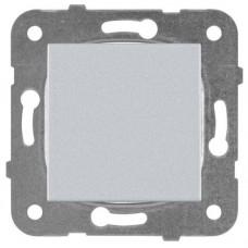 Механизм выключателя Panasonic Karre Plus WKTT00012SL-RES одноклавишный серебро