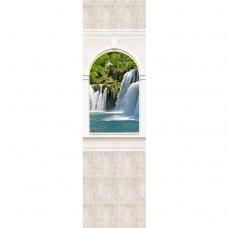 Стеновая панель ПВХ Novita Панорамы 3D Триумф №6 узор 2700х250 мм