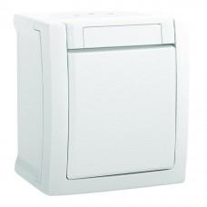 Выключатель Panasonic Pacific WPTC40012WH-RES одноклавишный белый