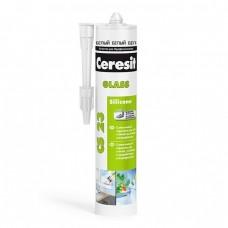 Ceresit CS 23 для стекла и аквариумов белый 280 мл