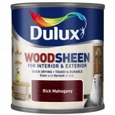 Dulux Woodsheen по дереву полуматовый богатый махагон 0,25 л