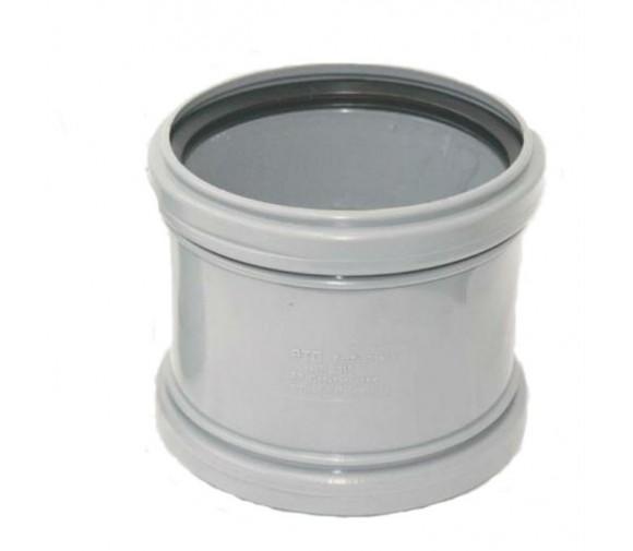 Муфта соединительная ПП Ду 110 мм равнопроходная с кольцом