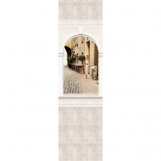 Стеновая панель ПВХ Novita Панорамы 3D Триумф №2 узор 2700х250 мм