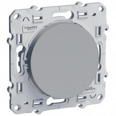 Механизм выключателя Schneider Electric Odace S53R201 одноклавишный алюминий с индикатором