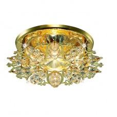 Светильник встраиваемый Novotech Aurora  369497 NT11 190 золото/прозрачный GX5.3 50W 12V