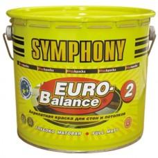 Symphony Euro-Balance 2 глубоко матовая 2,7 л пластиковое ведро