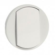Лицевая панель Legrand Celiane 068001 одноклавишная белая