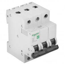 Автоматический выключатель Schneider Electric EASY 9 3П C 50А 4,5кА