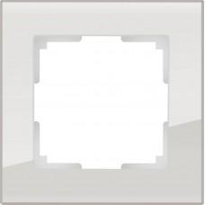 Рамка одноместная Werkel Favorit WL01-Frame-01 дымчатая