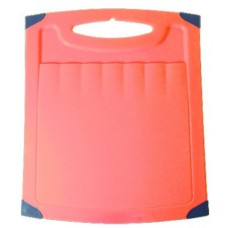 Доска разделочная пластиковая с резиновой вставкой 362*279 мм (ПЦ 1508)