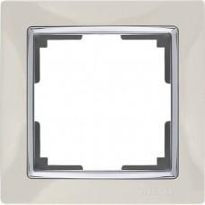 Рамка одноместная Werkel Snabb WL03-Frame-01-ivory Слоновая кость