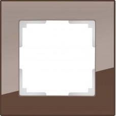 Рамка одноместная Werkel Favorit WL01-Frame-01 Мокко