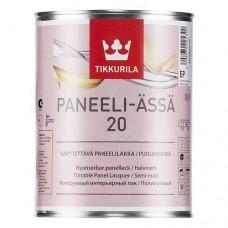 Лак Tikkurila Paneeli Assa 20 полуматовый 9 л