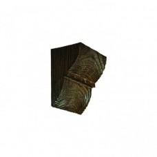 Консоль из полиуретана Fabello Decor Модерн ED 017 темная 100х90х60 мм
