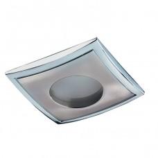 Светильник встраиваемый Novotech Aqua 369306 NT09 288 никель/хром IP65 GX5.3 50W 12V