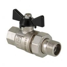 Кран шаровой Valtec Perfect VT.327.N.04 усиленный полнопроходной латунный с полусгоном