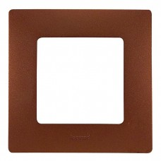 Рамка одноместная Legrand Etika 672571 какао
