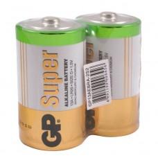 Батарейка алкалиновая GP Batteries Super Alkaline 13А D 2 шт.