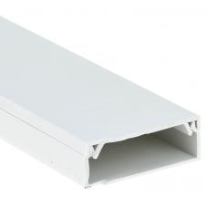 Кабель-канал EKF-Plast Proxima 100х40 мм с двойным замком белый
