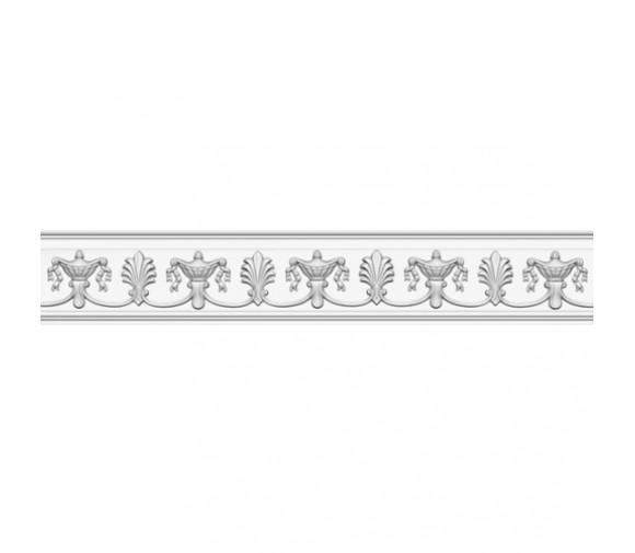 Полка каминная полиуретановая Decomaster 98813 190х2400х45 мм
