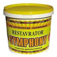 Лак-антисептик Symphony Restavrator глянцевый ЕР 2,7 л